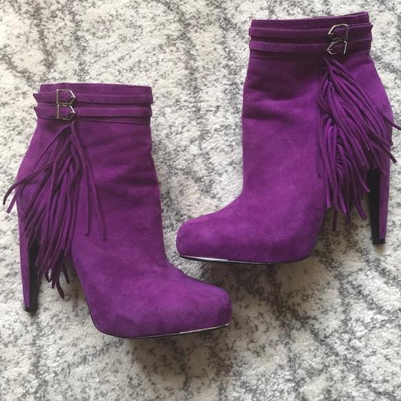 1eef978c53d476 Sam Edelman Purple Keegan Fringe Belted Suede Boot. Sam Edelman.  M 5afb1ecfa44dbe69fe95d89f. M 5afb1ee0b7f72b6ca4263340.  M 5afb1f1950687c0253ca130e
